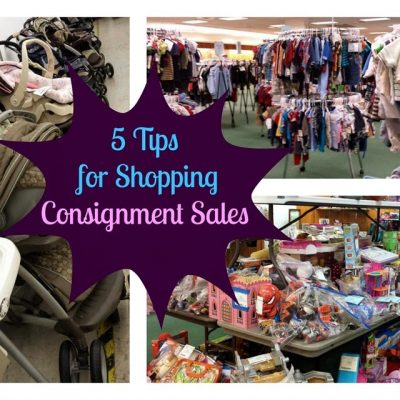5 Tips for Shopping Consignment Sales