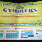 Redeem Your Gymbucks to save 50% at Gymboree