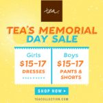 Memorial Day Sale at Tea