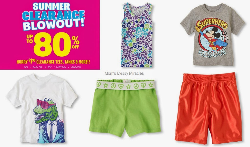 Summer Clearance Blowout at The Children's Place