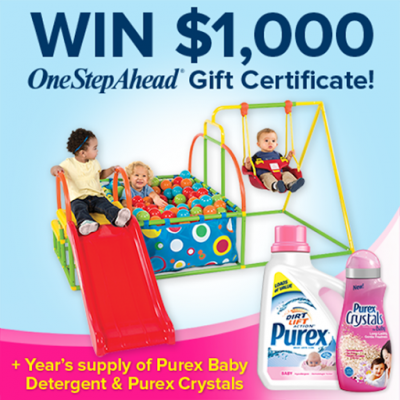 Give Baby a Fresh Start with Purex & One Step Ahead