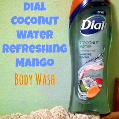 Dial Coconut Water Refreshing Mango Body Wash
