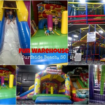 Rainy Day at Fun Warehouse