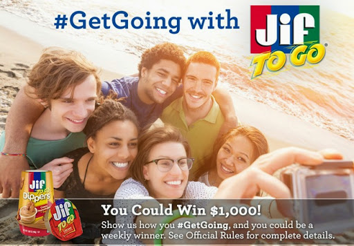 #GetGoing with Jif and Win $1,000!