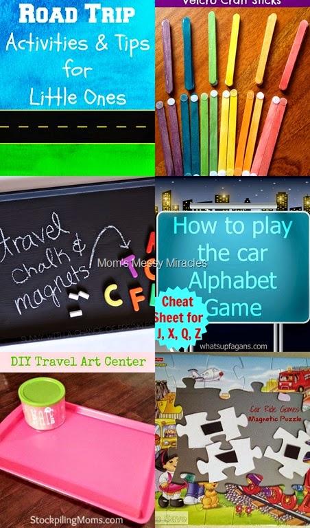 Road Trip Activities & Tips for Little Ones