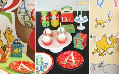 'P' is for Party! Dr. Seuss ABC Birthday Party from Birthday Express