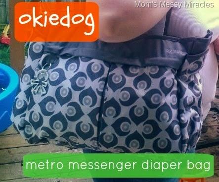 Our okiedog Diaper Bag: Baby & Preschooler