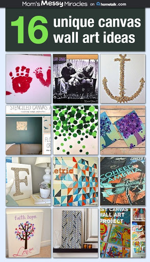 Canvas Wall Art Ideas on Hometalk