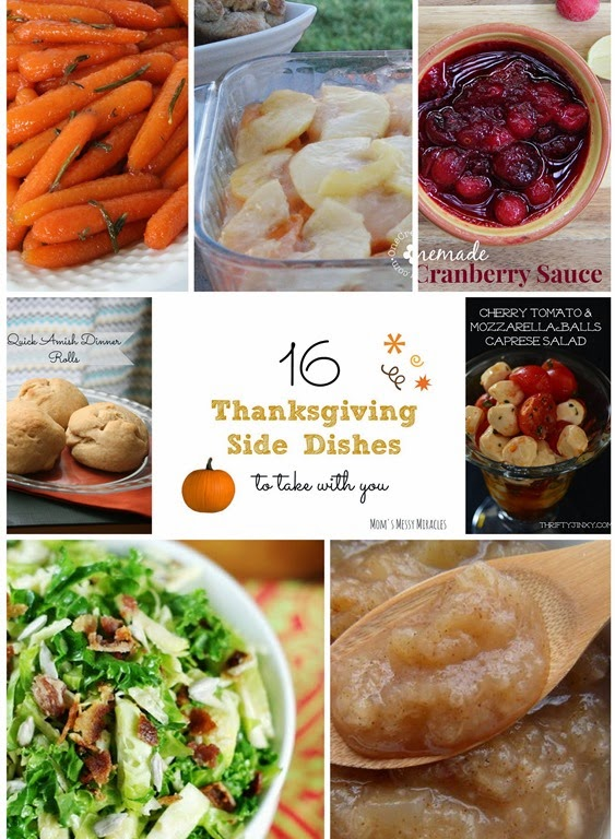 16 Thanksgiving Side Dishes To Take With You