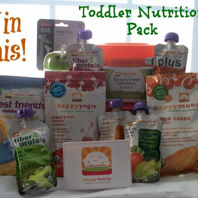 Happy Family Toddler Nutrition + Giveaway