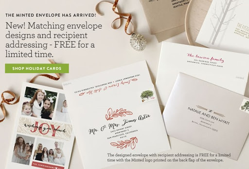 Minted Holiday Photo Cards