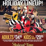 Celebrating the Holidays at Medieval Times