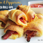 Bacon & Pepperoni Pizza Roll-Ups