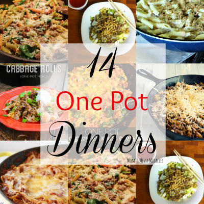 14 One Pot Dinners