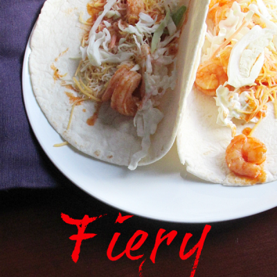 Fiery Shrimp Tacos