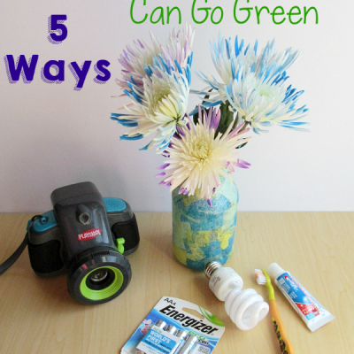 5 Ways Preschoolers Can Go Green