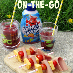 Easy Lunch On-the-Go: Slushie and Kabob
