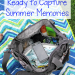 Diaper Bag Ready to Capture Summer Memories