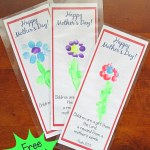 Free Printable Bookmark Craft for Mother's Day