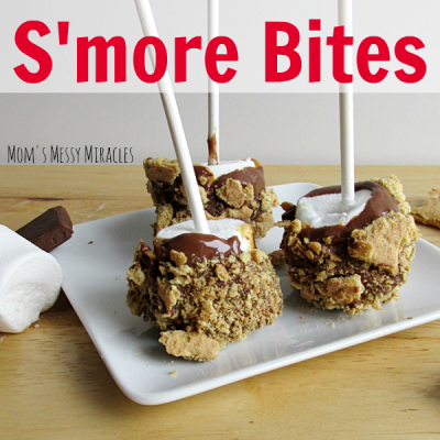 Peanut Butter S'more Bites