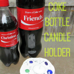 DIY Coke Bottle Candle Holder