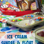 Ice Cream Sundae & Float Bar