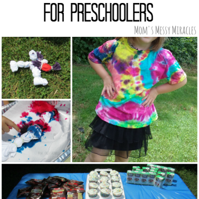Tie-Dye Party for Preschoolers