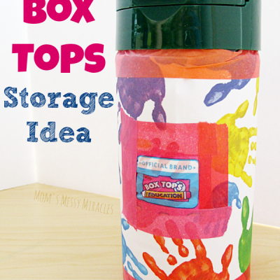 Easy Box Tops Storage Idea