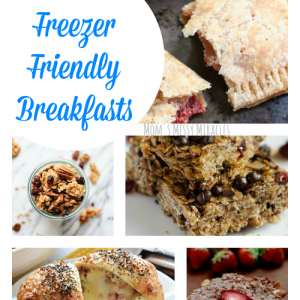 19 freezer friendly breakfasts that will make your mornings easier!