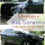 2016 Kia Sorento: The Sporty Family Vehicle You Need