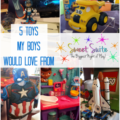 5 Toys My Boys Would Love from Sweet Suite '15