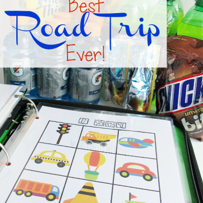 Best Road Trip Ever! Free Printables for your Travel Binder