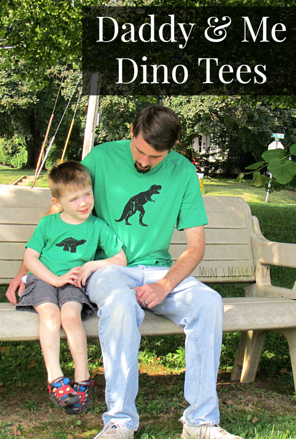 Daddy & Me Dino Tees