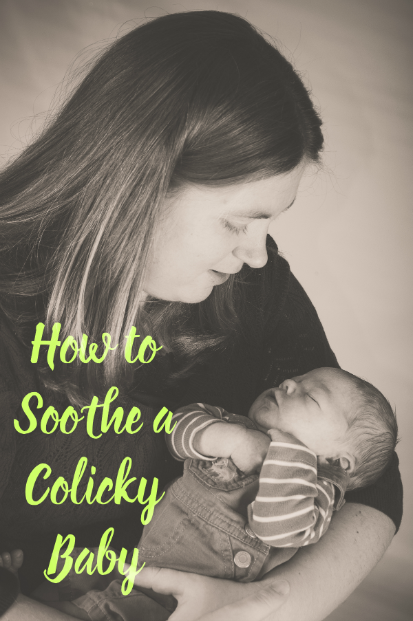 How to Soothe a Colicky Baby