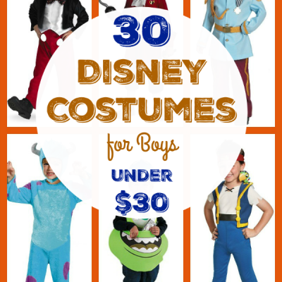 30 Disney Costumes for Boys Under $30