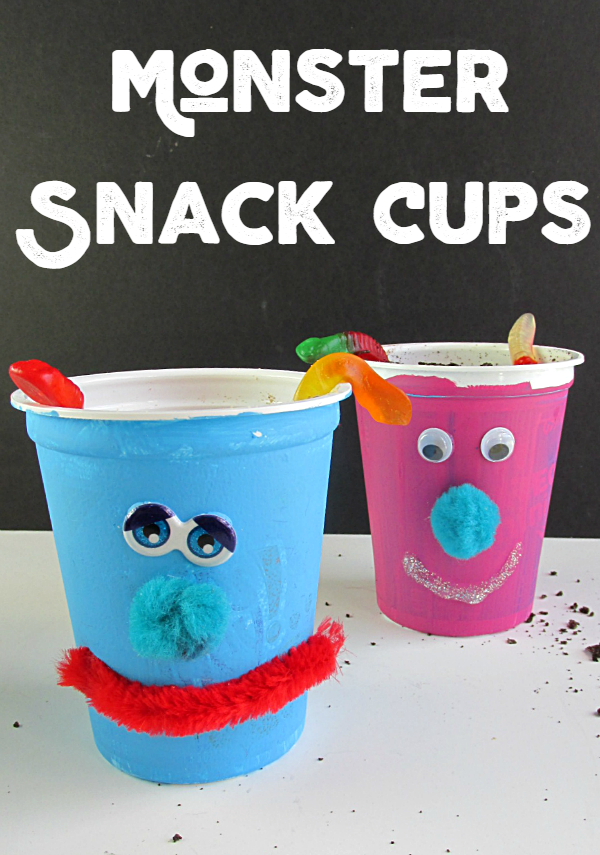 Monster Snack Cups