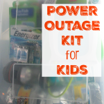 Power Outage Kit for Kids