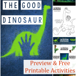 The Good Dinosaur Preview & Activities