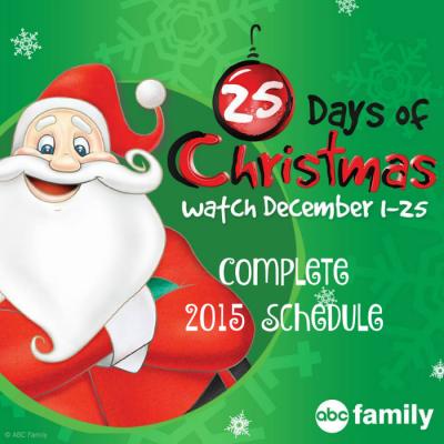 25 Days of Christmas on ABC Family