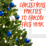 5 Types of Christmas Parties to Throw this Year