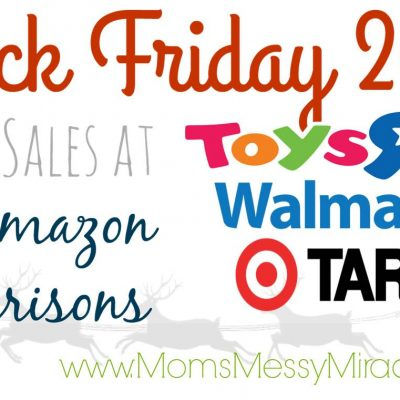 Black Friday Match-Ups for Target, Walmart, & Toys R Us