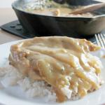 Pork Chops and Gravy Skillet Dinner