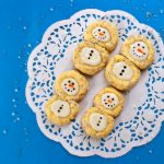Thumbprint Snowman Cookies