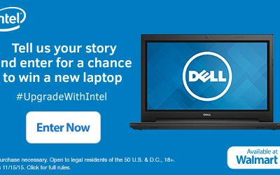 Enter to Win a New Laptop