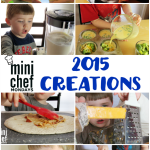 Mini Chef Mondays 2015 Creations
