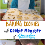 Baking Cookies with Cookie Monster at Beaches