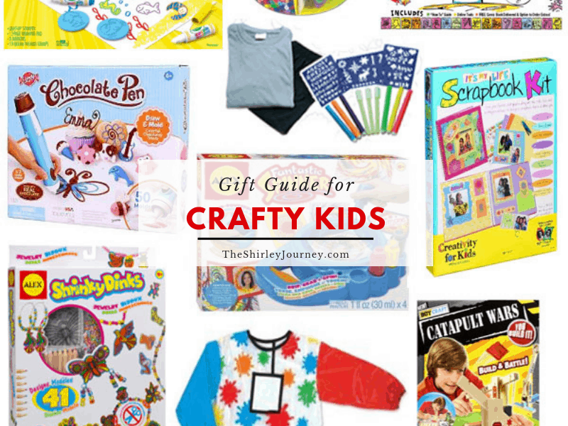Gifts For Crafty Kids The Shirley Journey