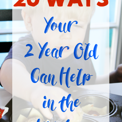 How a 2 Year Old Can Help in the Kitchen