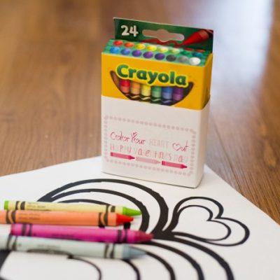 Crayon Valentines Printables