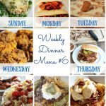 Weekly Dinner Menu #6